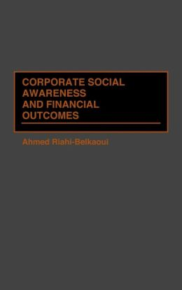 Corporate Social Awareness and Financial Outcomes
