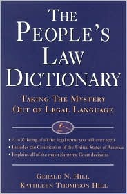 People's Law Dictionary
