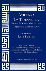 Avicenna on Therapeutics: Diseases, Disorders, Obstructions, Swellings and Managing Pain