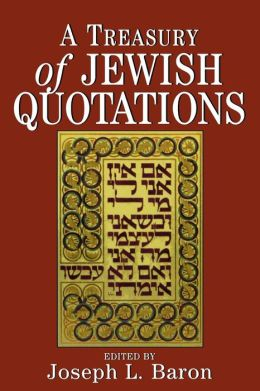 Treasury Of Jewish Quotations