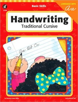 Handwriting: Traditional Cursive