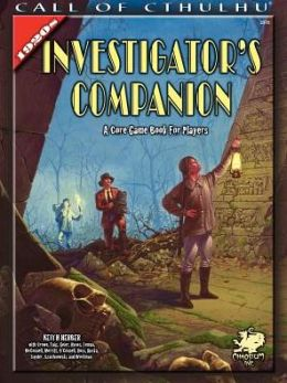 The 1920s Investigator Companion: A Core Game Book for Players