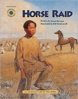 Horse Raid (Odyssey Series): An Arapaho Camp in the 1800s