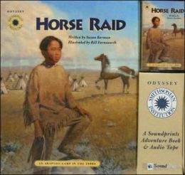 Horse Raid: An Arapaho Camp in the 1800s
