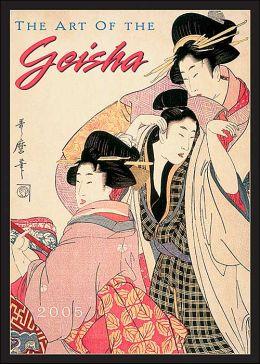 2005 Geisha Wall Calendar