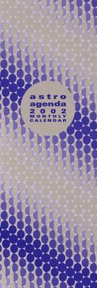 2002 Astrology Agenda Wall Calendar