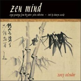 2007 Zen Mind, Beginner's Mind Wall Calendar