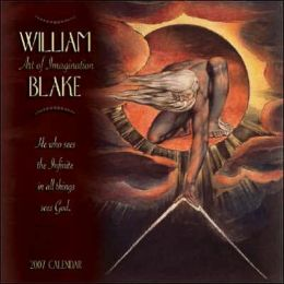William Blake, Art of Imagination 2007 Calendar