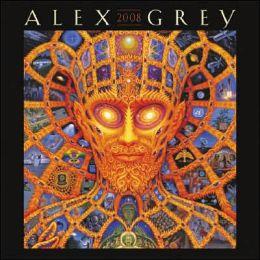 2008 Alex Grey Wall Calendar