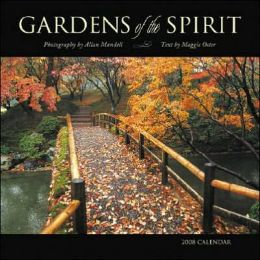 2008 Gardens of the Spirit Wall Calendar