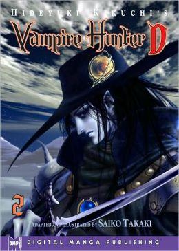 Hideyuki Kikuchi's Vampire Hunter D Manga Series, Volume 2