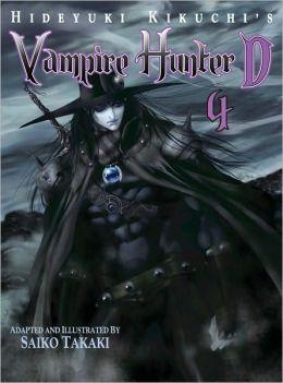 Hideyuki Kikuchi's Vampire Hunter D Manga Series, Volume 4