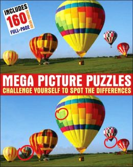 Mega Picture Puzzles: Challenge Yourself to Spot the Differences