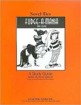 Fudge-a-Mania: A Study Guide (Novel-Ties Study Guides Series)