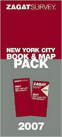 Zagat Survey New York City Book and Map Pack 2007