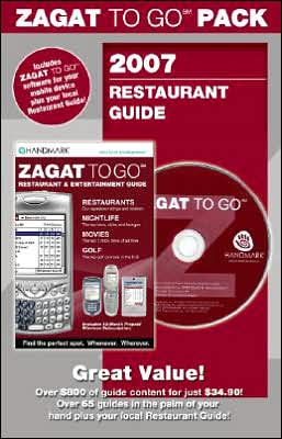 Zagat To Go Pack San Francisico with CD 2007