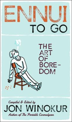 Ennui to Go: The Art of Boredom