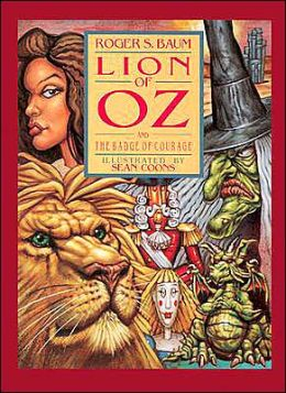The Lion of Oz and the Badge of Courage