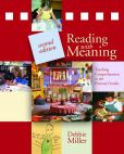 Book Cover Image. Title: Reading With Meaning 2nd ed, Author: Debbie Miller