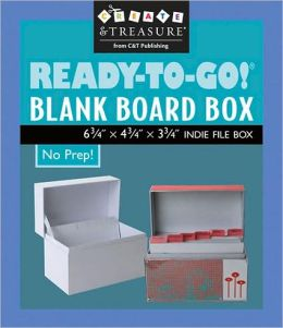 Ready-to-Go! Blank Board Box 6.75