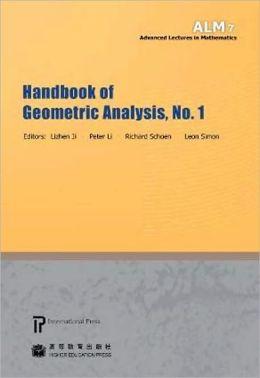 Handbook of Geometric Analysis