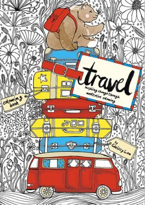 The Travel Book Coloring Book: Inspiring Change Through Meditative Coloring