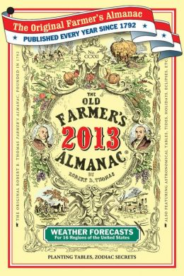 The Old Farmer's Almanac 2013