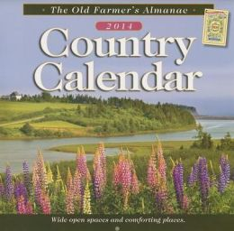 The Old Farmer's Almanac 2014 Country Calendar