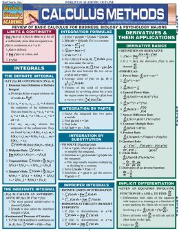Calculus Methods