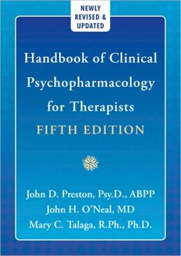 Handbook of Clinical Psychopharmacolgy for Therapists