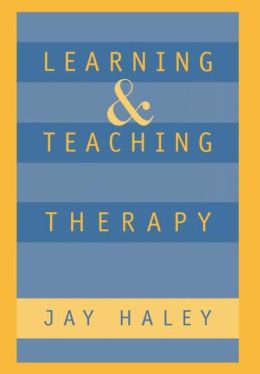 Learning and Teaching Therapy