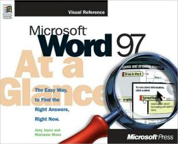 Microsoft Word 97 at a Glance