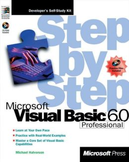 Microsoft Visual Basic 6.0 Professional Step by Step with CD-ROM