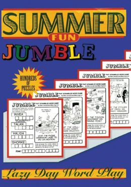 Summer Fun Jumbles: Lazy Day Word Play