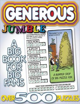 Generous Jumble: Another Big Book for Big Fans