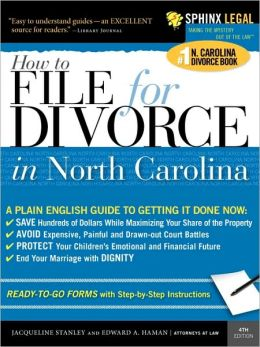 File For Divorce In North Carolina