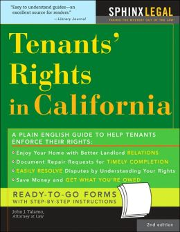 Tenants Rights in California