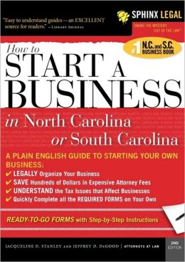 Start A Business In North Carolina Or South Carolina