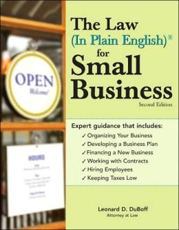 Law (In Plain English)¨ for Small Business, 2E
