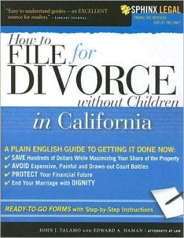 File for Divorce in California Without Children