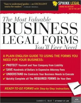 Complete Book of Business Legal Forms (Includes CD-ROM)