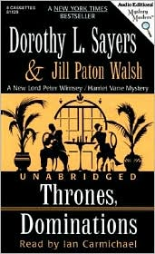Thrones, Dominations (A Lord Peter Wimsey Mystery)