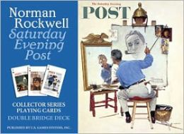 Norman Rockwell Saturday Evening Playing cards
