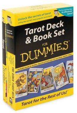 Tarot Deck and Book Set for Dummies with Book