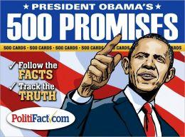 President Obamas 500 Promises Card Deck