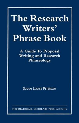 Research Writer's Phrase Book