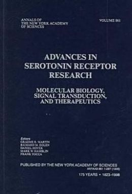 Advances in Serotonin Receptor Research: Molecular Biology, Signal Transduction and Therapeutics