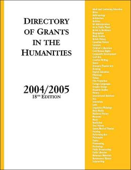 Directory of Grants in the Humanities, 2004/2005