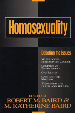 Homosexuality: Debating the Issues