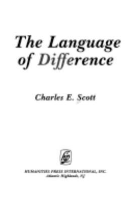 The Language of Difference
